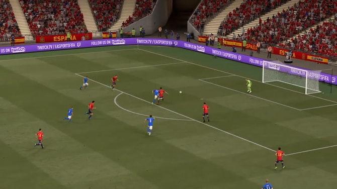 Image d'aperçu pour Le penalty scandaleux de l'Italie contre l'Espagne (FIFA)