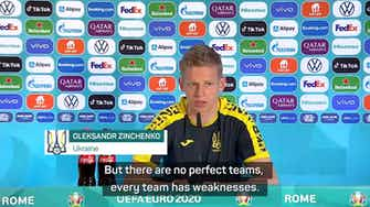 Preview image for Ukraine must play 'game of our lives' to beat England - Zinchenko