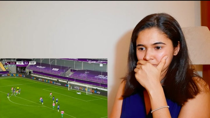 REACTING to goal #2 of the UWCL Final⚽️