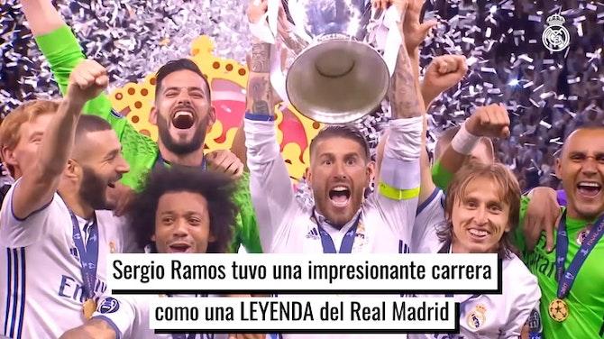 Sergio Ramos, una leyenda del Real Madrid