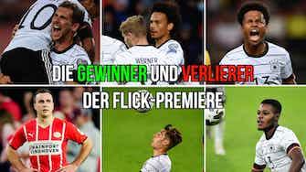 Vorschaubild für DFB: Gewinner und Verlierer bei der Flick-Premiere