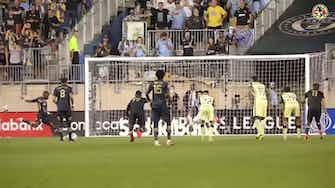 Imagen de vista previa para El América vence a Philadelphia Union por 0-2 y avanza a la final de la Concachampions