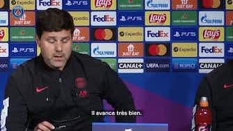 Image d'aperçu pour Mauricio Pochettino parle de la présence de Messi et de son adaptation