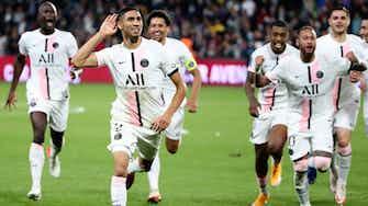Vorschaubild für Hakimi rettet PSG in der Nachspielzeit - 2:1 bei Kellerkind Metz