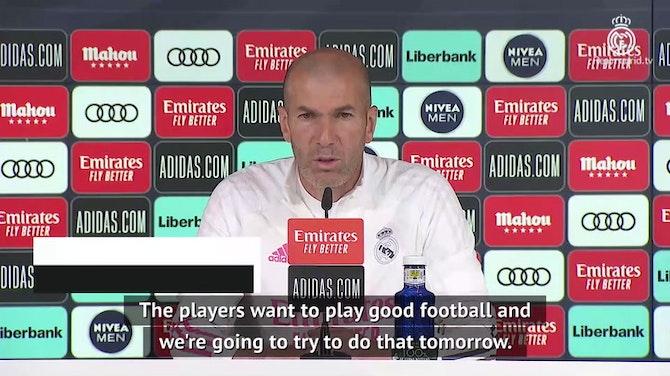 Zidane and Madrid focused on Granada test before title talk