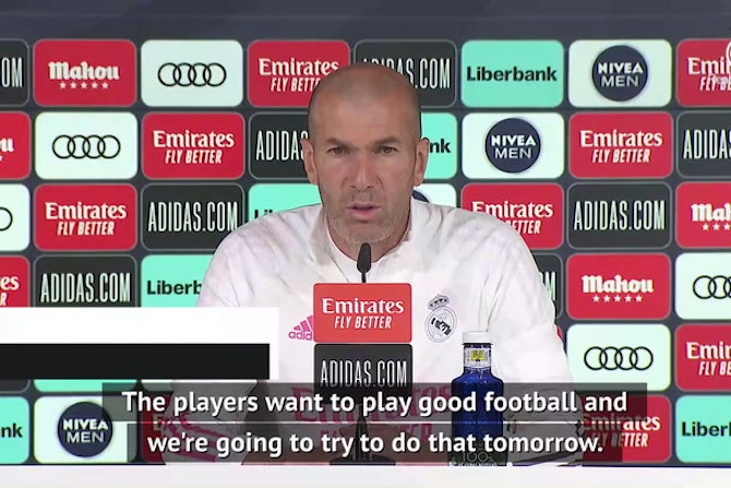 Zidane and Madrid focused on Granada test before title talk