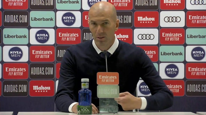 """Zidane, en titulares: """"Hay que felicitar al Atlético porque se lo merece"""""""