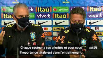 """Image d'aperçu pour Brésil - Tite : """"Casemiro a dit ce qu'il avait à dire sur toute la situation"""""""