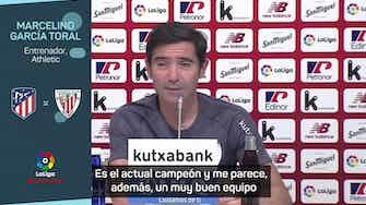 """Imagen de vista previa para Marcelino: """"El Atlético funciona como una apisonadora"""""""