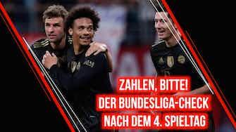 Vorschaubild für Zahlen, bitte! Der Bundesliga-Check zum 4. Spieltag