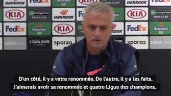 """Image d'aperçu pour Groupe J - Mourinho : """"J'aimerais bien avoir la renommée de Bale"""""""