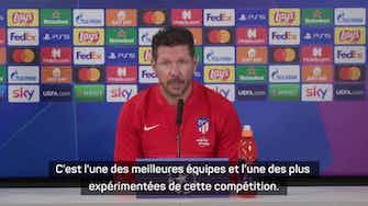 """Image d'aperçu pour Groupe B - Simeone : """"C'est toujours fantastique de rejouer contre Milan"""""""