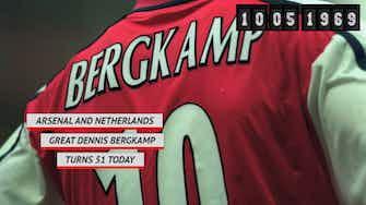 Preview image for Arsenal legend Dennis Bergkamp turns 51