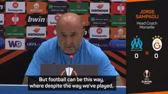 Preview image for Marseille deserve more than two Europa League draws - Sampaoli