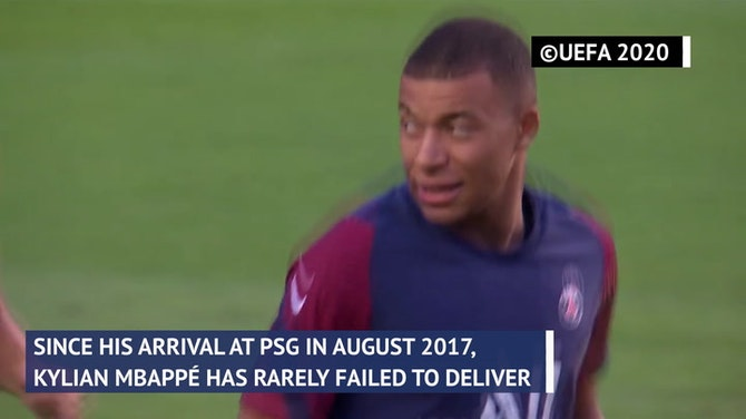 Preview image for Kylian Mbappe - 100 goals at the speed of light