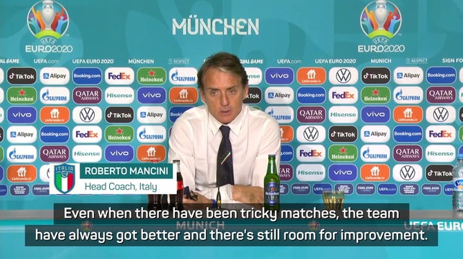 Preview image for 'Room for improvement' for Mancini's Italy after sealing semi spot