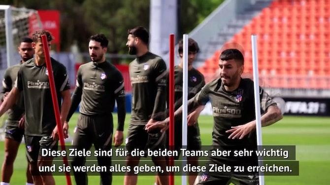 Liga-Finale: Simeone warnt vor Abstiegskandidaten