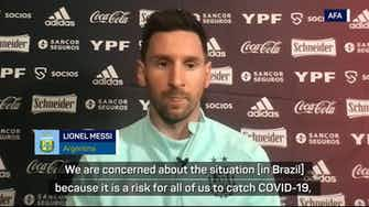 Preview image for Messi's Argentina concerned about COVID-19 risk at Copa America