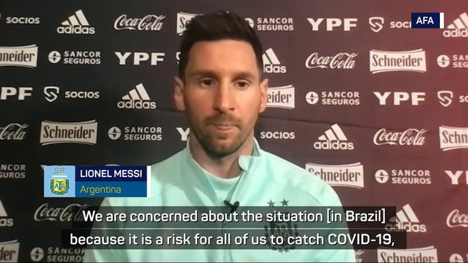 Messi's Argentina concerned about COVID-19 risk at Copa America