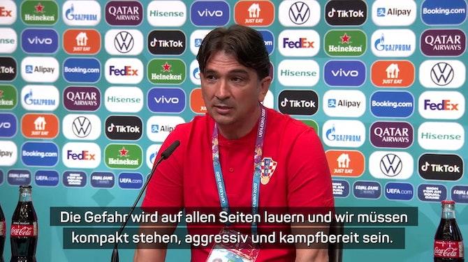 """Dalic: Müssen gegen Favoriten """"kämpferisch sein"""""""