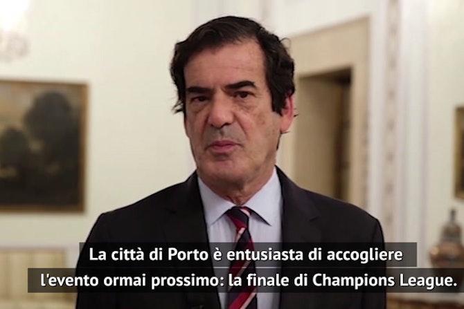 """Il sindaco di Porto: """"Finale di Champions, ci faremo trovare pronti"""""""