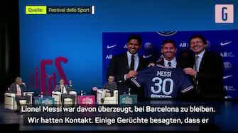 Vorschaubild für PSGs Leonardo: Messi-Transfer war eine Überraschung