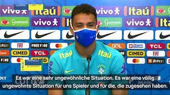 """Vorschaubild für Danilo über Spielabbruch: """"Versucht zu entspannen"""""""