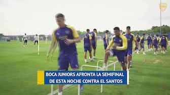 Imagen de vista previa para Boca ya espera al Santos