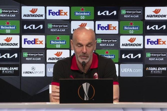 """Milan, Pioli: """"Derby? Avremo il tempo per prepararci"""""""