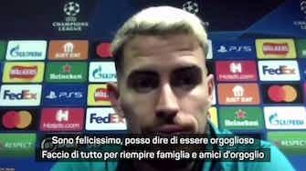 """Anteprima immagine per Jorginho, calciatore dell'anno: """"Orgoglioso"""""""