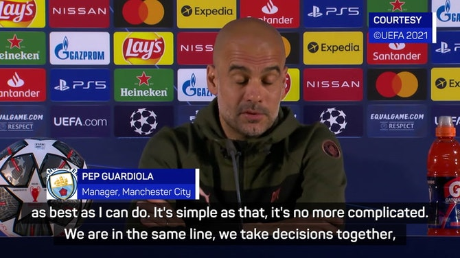 Guardiola has 'everything' at Man City for even longer stay