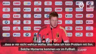 """Vorschaubild für De Bruyne: """"Bin nicht wütend auf Rüdiger"""""""