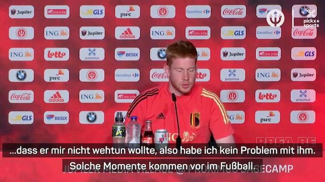 """De Bruyne: """"Bin nicht wütend auf Rüdiger"""""""
