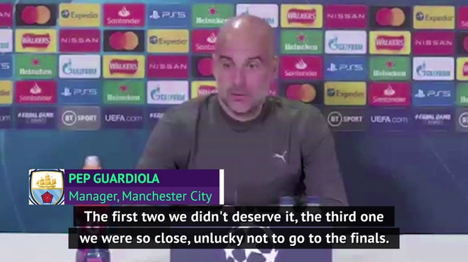 Guardiola confident of ending semi-final curse with City