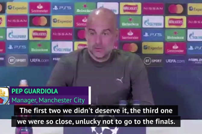 Guardiola confident of ending semi-final curse with City