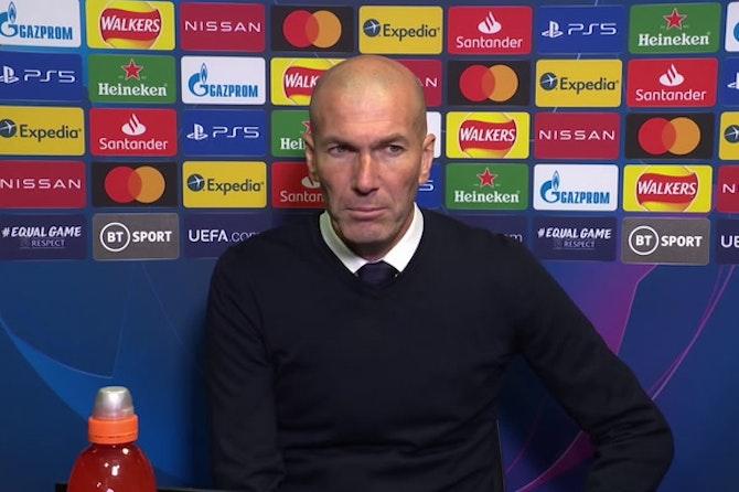 """Zidane, en titulares: """"Estoy orgulloso de mis jugadores"""""""