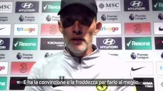 """Anteprima immagine per Lui bacia la maglia e Tuchel se lo coccola: """"Lukaku, due gol stupendi"""""""