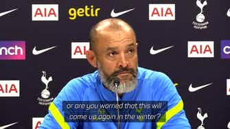 Preview image for Not worried about future Harry Kane rumours - Nuno