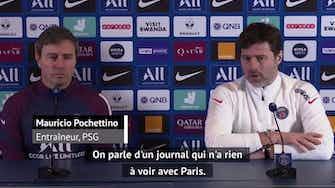 """Image d'aperçu pour Transferts - Pochettino : """"Aucun manque de respect envers Messi"""""""
