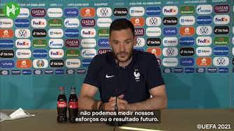 """Imagem de visualização para """"Jogar para ganhar"""", diz Lloris apesar da França já estar classificada às oitavas"""