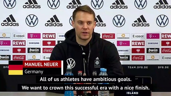 Preview image for Neuer defends Low and targets Euro success