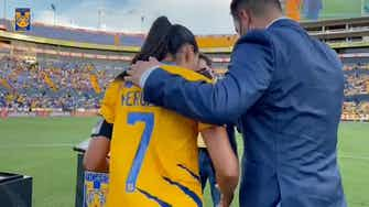 Preview image for Tigres pay homage to Liliana Mercado