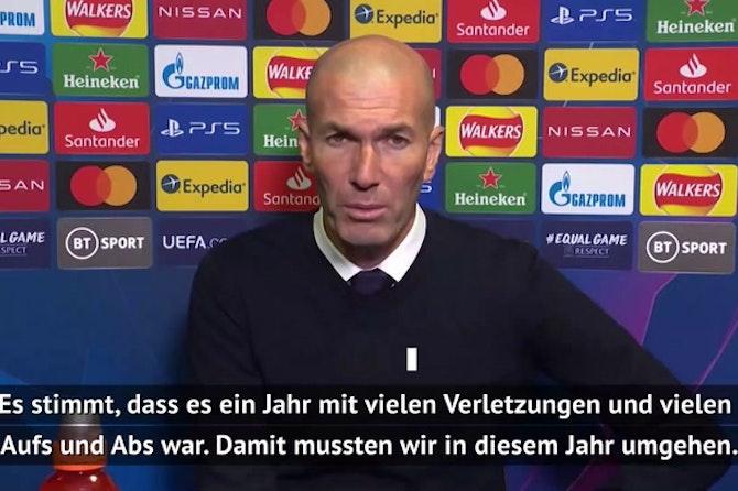 """Zidane: """"Chelsea war besser als wir"""""""