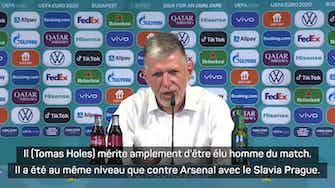 """Image d'aperçu pour 8es - Silhavy : """"Holes mérite amplement d'être élu homme du match"""""""