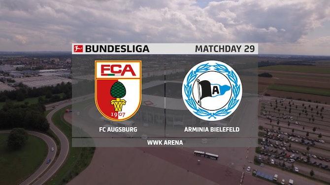 Augsburg decepciona e empata com o Arminia Bielefeld