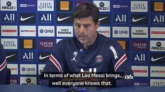 Preview image for  'Messi has settled in well' – Pochettino hints at PSG debut