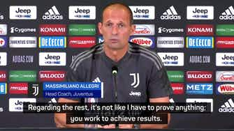 Preview image for Ronaldo staying put, says Allegri