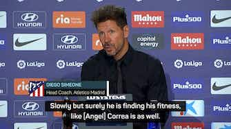 Preview image for Simeone eyes new striker despite Atleti's unbeaten start to title defence