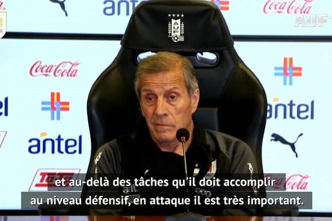 """Uruguay - L'absence de Neymar, un """"soulagement"""" pour Tabárez"""