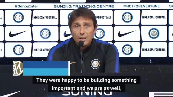 Conte looking to replicate Liverpool's 'war machine' at Inter